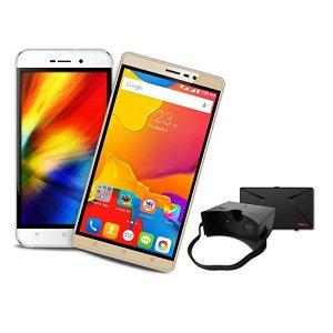Post thumbnail of インド Karbonn、VR ヘッドセット付属スマートフォン「Quattro L52」と「Titanium Mach Six」発表、価格7490ルピー(約12,000円)より