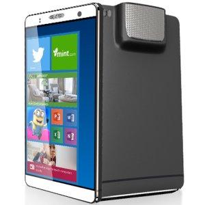 Post thumbnail of Akyumen、Android 5.0 と Windows 10 のデュアル OS やプロジェクターを搭載した大型7インチスマートフォン「Holofone」発表