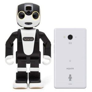 Post thumbnail of シャープ、モバイル型ロボット電話とスマートフォンをセットにした「ロボホンスマホセット」登場、価格224,640円で9月27日発売