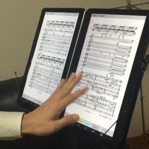 Post thumbnail of ノモス、楽譜表示用 Android 搭載 二つ折り A4 サイズ 13.3インチ 2画面タブレット「SONO」開発、クラウドファンディング開始
