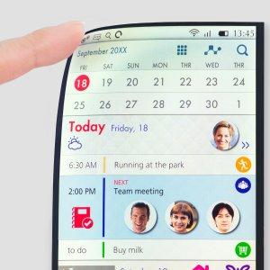 Post thumbnail of ジャパンディスプレイ、スマートフォン向けプラスチック基板採用の曲げられる 5.5インチ IPS 液晶「Full Active Flex」発表
