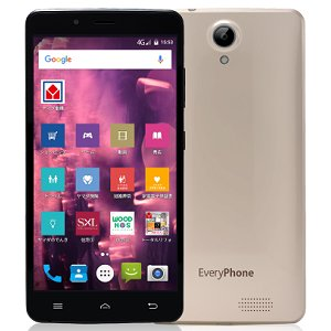 Post thumbnail of ヤマダ電気、大画面 6インチ Android 7.0 搭載 SIM フリースマートフォン「Every Phone AC」発表、価格12,800円で4月28日発売