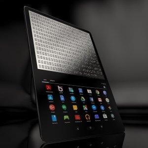 Post Thumbnail of 世界初となる点字画面を搭載した視聴覚障がい者向け Android タブレット「BLITAB」開発中、価格500ドル(約56,000円)