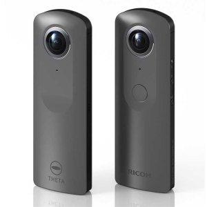 Post thumbnail of リコー、Android OS 搭載 4K 動画撮影対応の360度カメラ開発「RICOH THETA」シリーズとして2017年中に発売