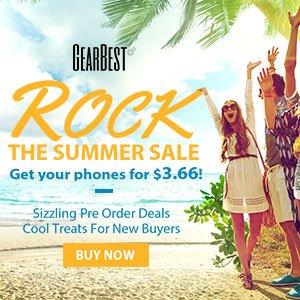 Post Thumbnail of 海外ガジェットショップ GEARBEST、6月の大規模セールに向けた値引きキャンペーン「Rock The Summer Sale」を6月7日より開始