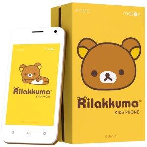 Post thumbnail of Pomo House、タイ市場向けリラックマモデル 4インチ 3G スマートフォン「Rilakkuma Kids Phone」発表、価格4990バーツ(約17,000円)