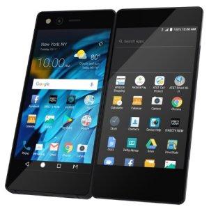 Post thumbnail of ZTE、最大 6.75インチ相当になる5.2インチ画面を2つ搭載した折りたたみ可能なスマートフォン「AXON M」発表、日本ではドコモが販売