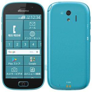 Post thumbnail of ドコモ、シニア向け VoLTE (HD+) ワンセグ防水対応 4.5インチスマートフォン「らくらくスマートフォン me F-03K」登場、2月28日発売