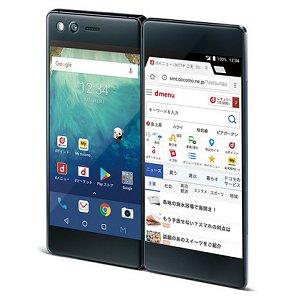 Post thumbnail of ドコモ、最大6.75インチ相当になる折りたたみ可能な5.2インチ画面を2つ搭載したスマートフォン「M Z-01K」登場、2018年2月9日発売