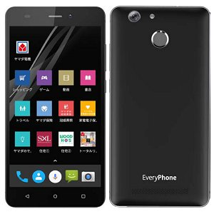 Post thumbnail of ヤマダ電気、指紋センサー搭載 DSDS 対応 5.5インチスマートフォン「EveryPhone BZ」発表、価格16,800円で11月10日発売