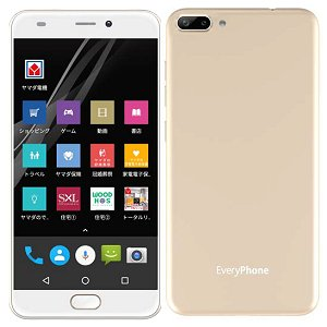 Post thumbnail of ヤマダ電気、デュアルカメラ搭載 DSDS 対応 5.5インチスマートフォン「EveryPhone PR」発表、価格19,800円で11月10日発売