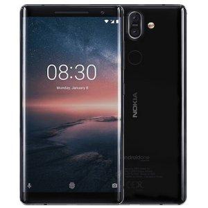 Post thumbnail of ノキア、Android One デュアルカメラ Snapdragon 835 搭載 3D 曲面ガラス採用 5.5インチスマートフォン「Nokia 8 Sirocco」発表