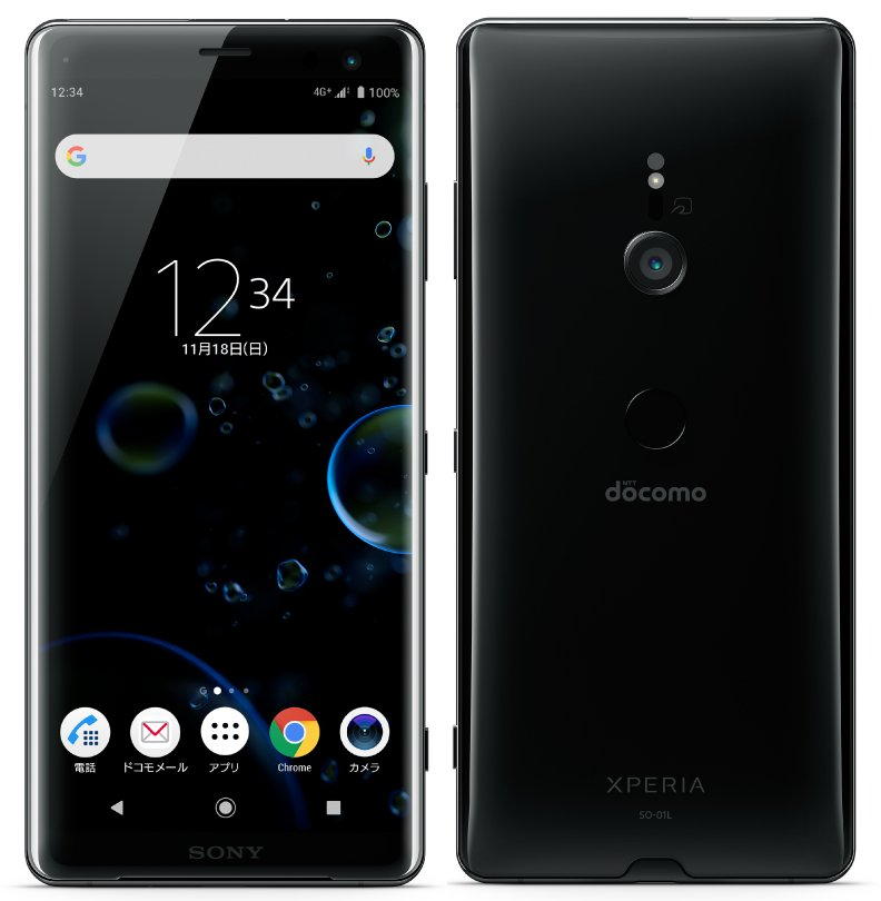 Post thumbnail of ドコモ、背面曲面ガラス採用 Android 9 Pie OS に Snapdragon 845 搭載 6インチスマートフォン「Xperia XZ3 SO-01L」登場、11月9日発売