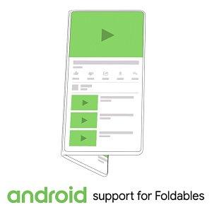Post thumbnail of グーグル、Android OS で折りたたみ可能なフレキシブルディスプレイをサポートすると発表、サムスンと協力してプラットフォーム構築へ