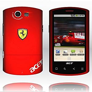 Post Thumbnail of Acer、イタリア高級スポーツカーメーカー「フェラーリー (Ferrari)」とのコラボレーション Android スマートフォン「Liquid E」