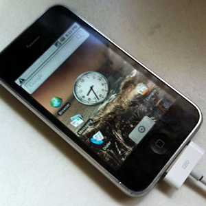 Post Thumbnail of iPhone G3 on Android 移植?