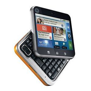Post Thumbnail of 正方形方 Android携帯 Motorola FLIPOUT