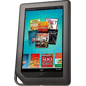 Post Thumbnail of Barnes & Noble、7インチ Android 2.2 電子書籍「NOOK color」