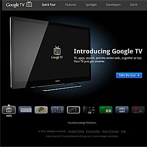 Post Thumbnail of Google テレビを利用した新サービス 「Google TV」開始