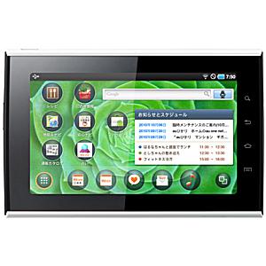 KDDI サムスン電子 7インチ Androidタブレット SMT-i9100