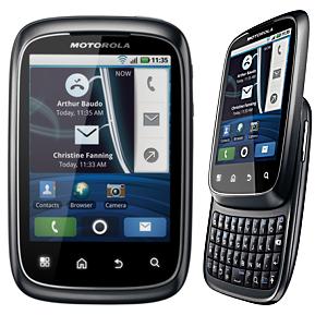 Post Thumbnail of 小型スライド式 QERTY キーボード搭載「Motorola Spice」