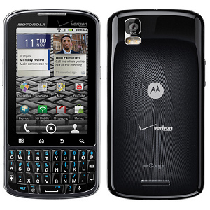Post thumbnail of Verizon BlackBerry風キーボード搭載 Motolora Droid Pro