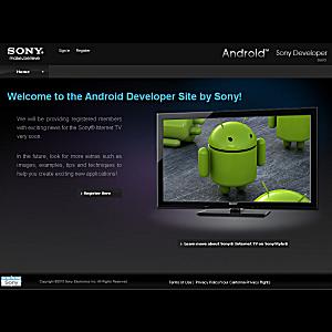 Post Thumbnail of 米Sony Internet TV発売に合わせてAndroid開発者登録サイト開設