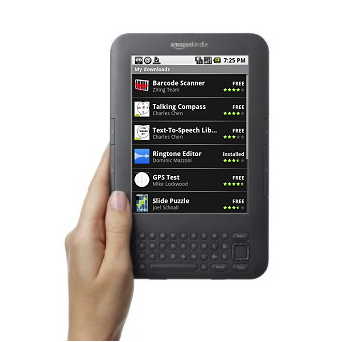 Post Thumbnail of アマゾン (Amazon) Android 搭載「Kindle」の噂