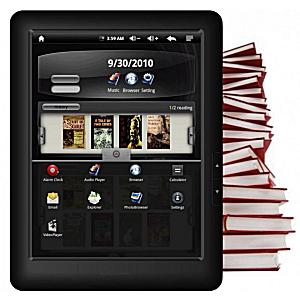 Post Thumbnail of 8インチ電子ブックリーダー ODYS Genesis e-Reader