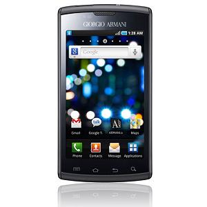 Post Thumbnail of ジョルジオ・アルマーニ とSamsung Galaxy S のコラボ携帯