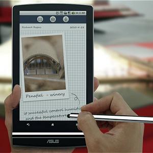 Post thumbnail of 裸眼3D対応 筆圧感知付タブレット「Asus Eee Pad MeMO 3D」