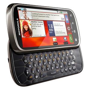 Post Thumbnail of ハニカム構造のスライド式キーボード搭載「 Motorola Cliq2 」