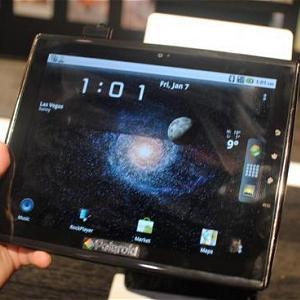 Post Thumbnail of ポラロイド、特殊サイズ9.7インチ Android タブレット「Surfin」発表