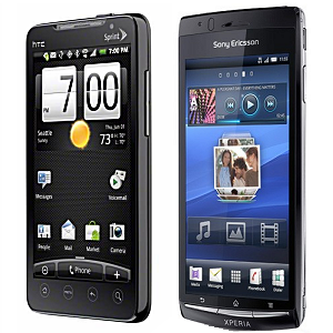 Post thumbnail of KDDI au 4月 WiMAX対応「HTC EVO」5月「Xperia Arc」発売