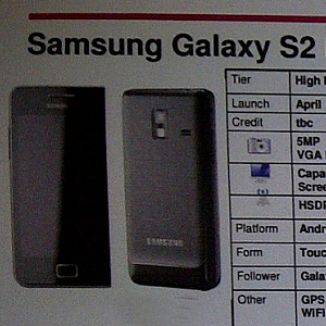 Post Thumbnail of Samsung Galaxy S2 Mini 製品カタログ情報リーク 4月発売?