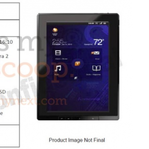 Post thumbnail of Lenovo Android 3.0 Honycomb搭載「Think Tab」発表予定
