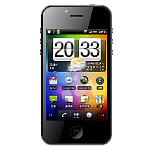 Post thumbnail of 中国 Sinoteck どうみても某 iPhone 4 な「W801 SK-168」発売