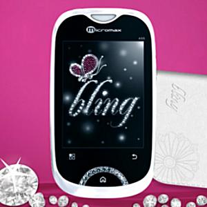 Post Thumbnail of インド Micromax 女性向けキュートなAndroid携帯「Bling 2」発売